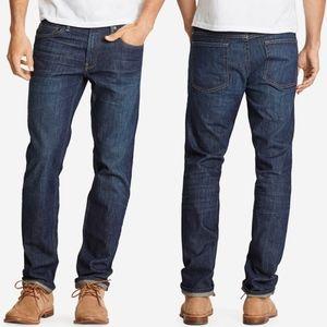 🍉 Bonobos • Blue Jean Straight Leg Tumbled Dark